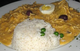 Receta de ají de gallina plato peruano