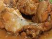 Alitas de pollo con salsa de soja y miel