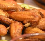 Alitas de Pollo en Salsa de Barbacoa