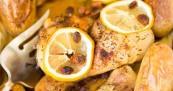 Receta de pollo al horno en jugo de limón